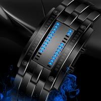 Skmei Popular Men Fashion Creative Watches Digital Led Display Water Shock Resistant Lover'S Wrist Watches Clock Men