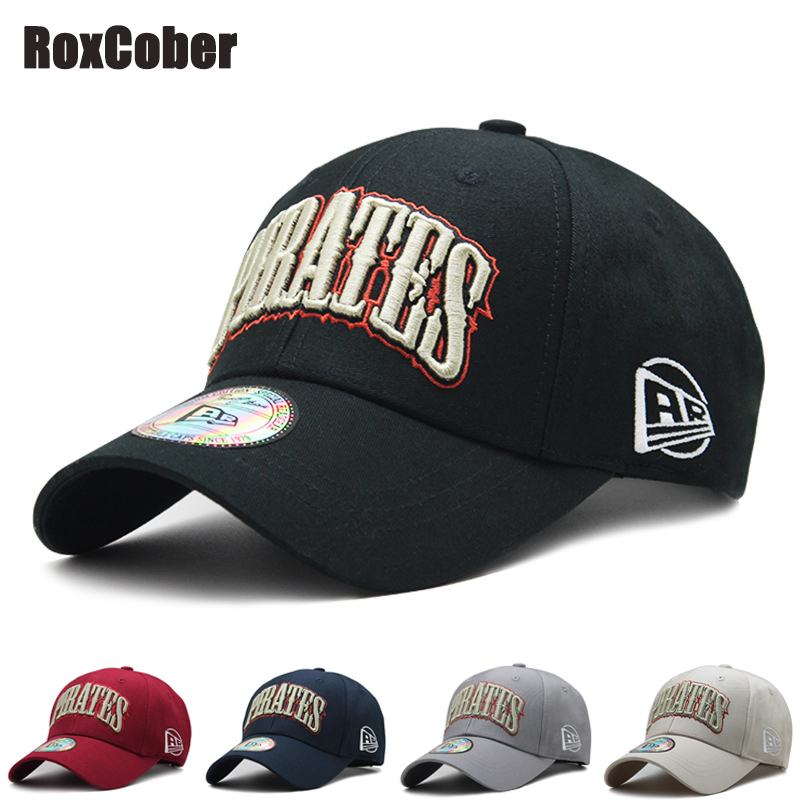 RoxCober Unisex sports leisure embroidery Letter Adjustable Baseball Caps Snapback Caps Hip-hop hat Visors fashion