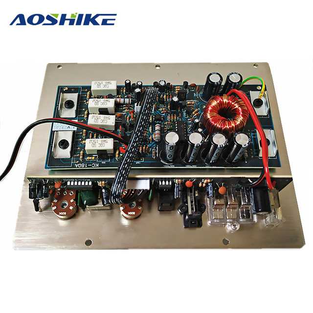 Best Offers Aoshike 12V 600W Amplifier Board Mono Car Audio Power Amplifier Powerful Car Subwoofers Sound Amplifier Car Audio