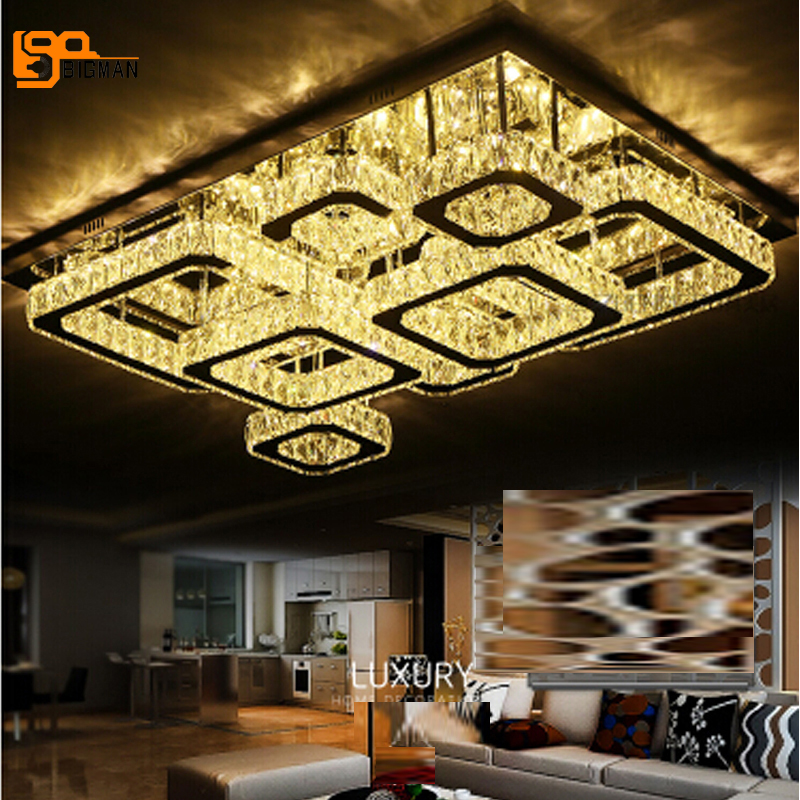 Free shipping novelty design crystal LED chandelier modern living room lights chrome finish LED light fixtures free shipping best selling living room led ceiling light 200mm dia led chandelier