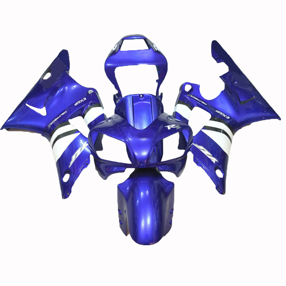 цена на Motorcycle fairing kit for 1998 1999 blue YAMAHA R1 YZF R1 fairings kit for 98 99 injection molding LV61