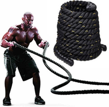 9M*38MM Durable Fitness Training Rope Tug-Of-War Gym Rope Combat Fighting Rope