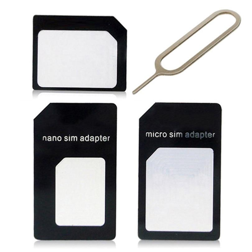 Sim Card Adapters For Micromax Bolt A066 A089 A47Unite 2 3 Q372 Nano Micro Standard Sim Card Adapter abrasive Bar Card Pin
