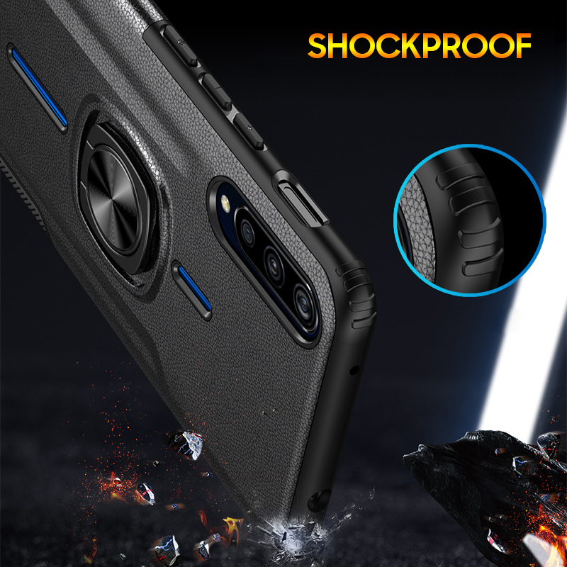 For Vivo V15 Pro Case For Vivo IQOO NEX A V11 V15 Y17 Back Cover Case Magnetic Car Holder Ring Armor Case Full Protective Capa