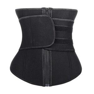 Image 1 - เอวเทรนเนอร์ body shaper Corset ผู้หญิง binder tummy shaper สายกระชับสัดส่วนชุดชั้นใน shapewear Girdle ท้องเข็มขัด