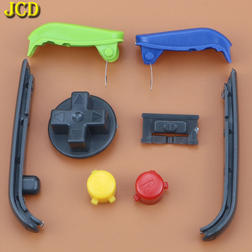 Image 2 - JCD Multi Color Buttons Keypads L R A B Buttons For Gameboy Advance Buttons Frame For GBA D Pads Power ON OFF Buttons-in Replacement Parts & Accessories from Consumer Electronics