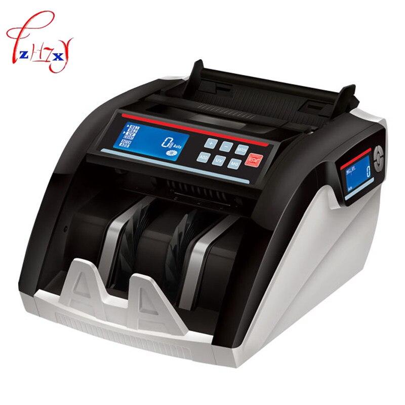 Счетчик денег Счетная машина фальшивый детектор счет кассовый аппарат, детектор валюты 110 В/220 В