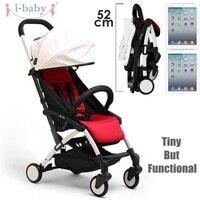 I baby DoDo легкая коляска детская коляска с высоким ландшафтом портативный складной детский Детские коляски Kinderwagen