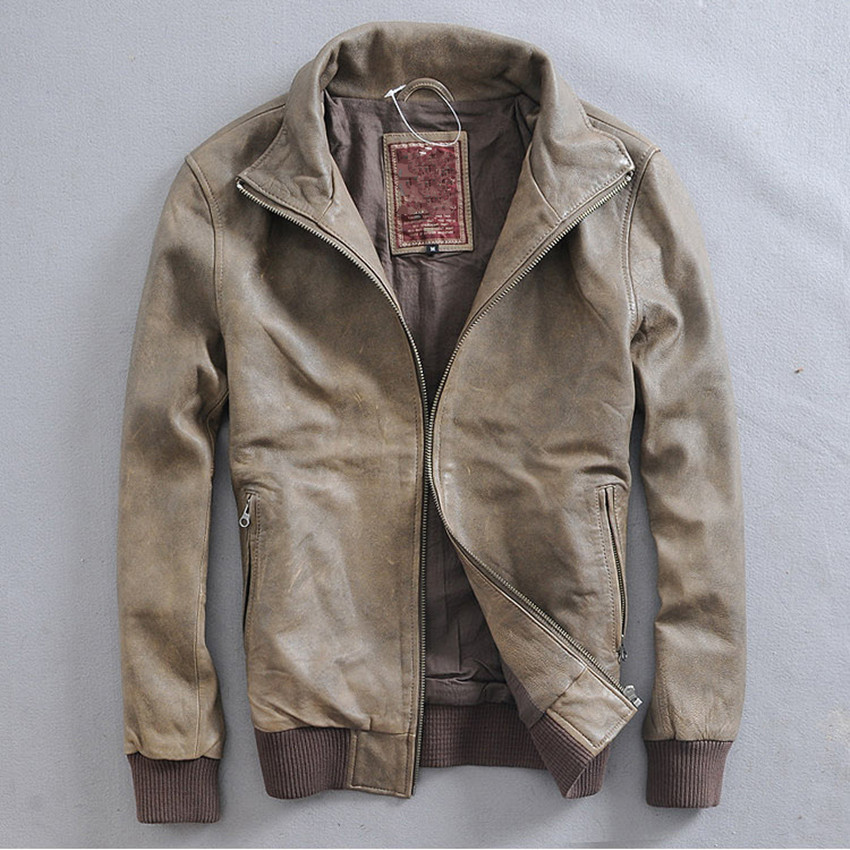 Popular Vintage Sheepskin Jacket-Buy Cheap Vintage Sheepskin