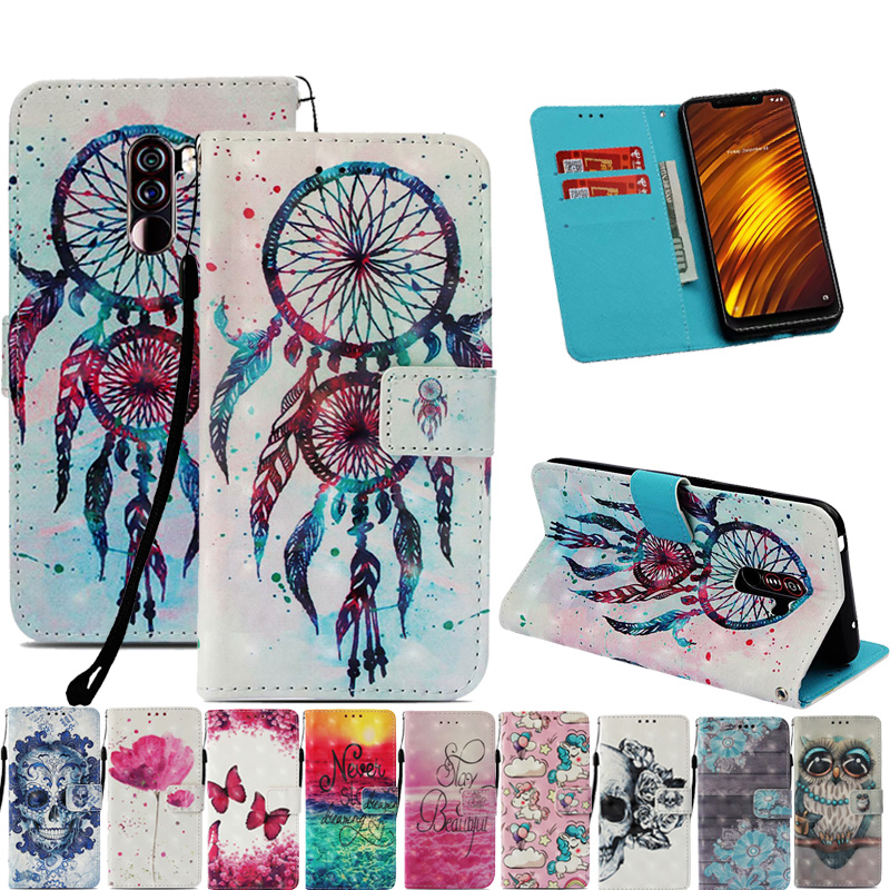 <font><b>3D</b></font> Design Flip Luxury Leather Wallet Phone Case Cover For <font><b>Xiaomi</b></font> Mi Mix 2S A1 A2 Lite Mi 8 <font><b>Redmi</b></font> Note 5 4X <font><b>4A</b></font> F1 S2 6 5 Plus Max image