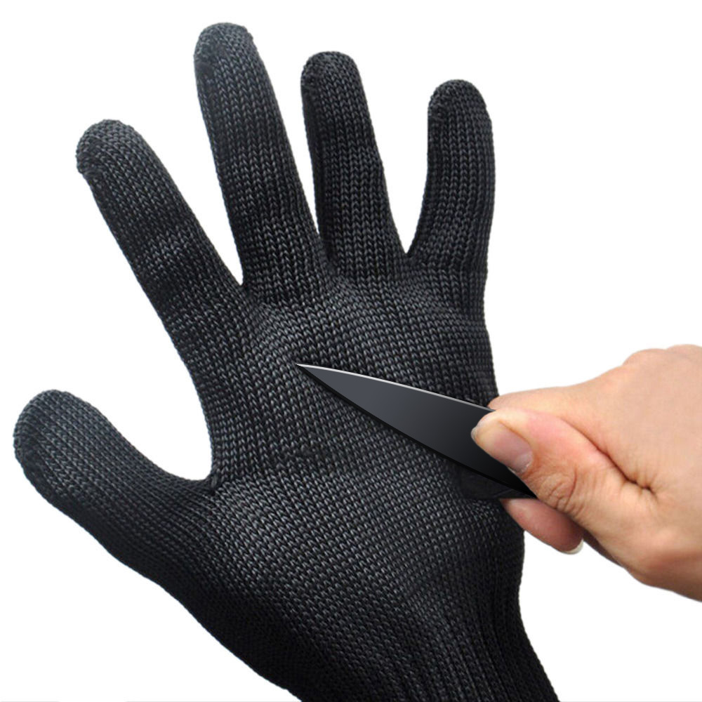 Personal Protection Cut-resistant Tactical Gloves Security Self Defense Gloves Proof Protect Steel Wire Safety Breathable Gloves