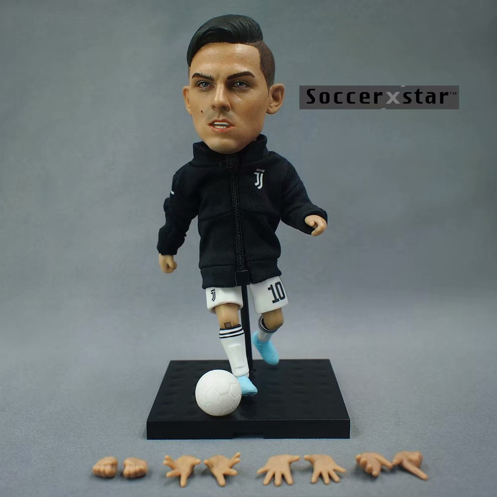 Soccerxstar Figurine Football Player Movable Dolls Juventus team 10# DYBALA 12CM/5in Figure BOX include Accessories