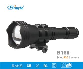 Zaklamp Rood Licht : Brinyte b158 led jacht zaklamp zoomable licht zoom in flood lamp