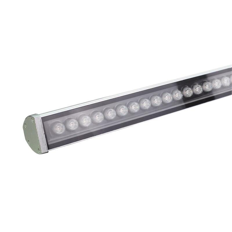 6 pçs/lote IP65 AC85-265V 36 W à prova d' água levou luz de inundação lâmpadas LED Wall washer Paisagem luz Azul/Verde/ vermelho/Quente/Frio/RGB