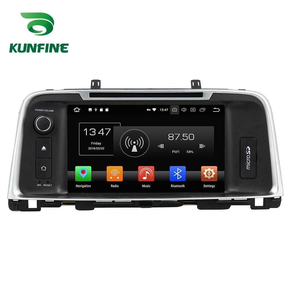 Octa Core 4GB RAM Android 8.0 Car DVD GPS Navigation Multimedia Player Car Stereo for KIA K5/OPTIMA 2015 Radio Headunit WIFI 3G android 8 0 octa core 4gb ram 32gb rom car dvd radio multimedia stereo player 1024 600 gps navigation for kia sportage 2010 2012