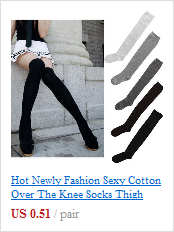 11fd3573dc Hot Newly Fashion Sexy Cotton Over The Knee Socks Thigh High ...