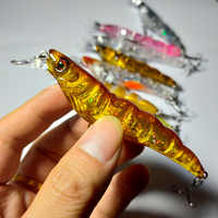 Iscas de pesca topwater minnow 10cm 13g artificial duro isca japão mini wobblers manivela carpa pesca