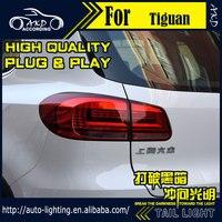 AKD Car Styling Tail Lamp For VW Tiguan Tail Lights New Tiguan 2014 LED Tail Light