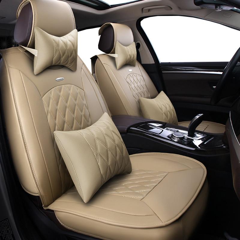New Pu leather Auto Car Seat Covers Universal Automotive car seat cover for BMW e30 e34 e36 e39 e46 e60 e90 f10 f30 x3 x5 x6 car все цены