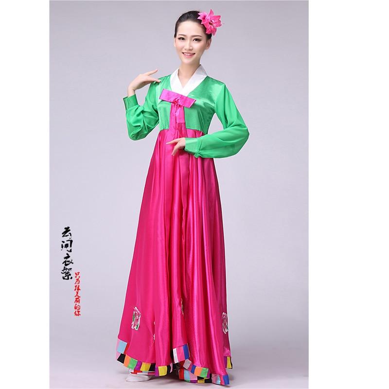 Vestido tradicional coreano hanbok coreano traje nacional ropa ...
