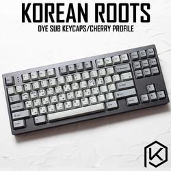 Kprecommunication 139 корейский корень корейский язык шрифта Вишневый профиль краситель Sub Keycap PBT для gh60 xd60 xd84 cospad tada68 87 104