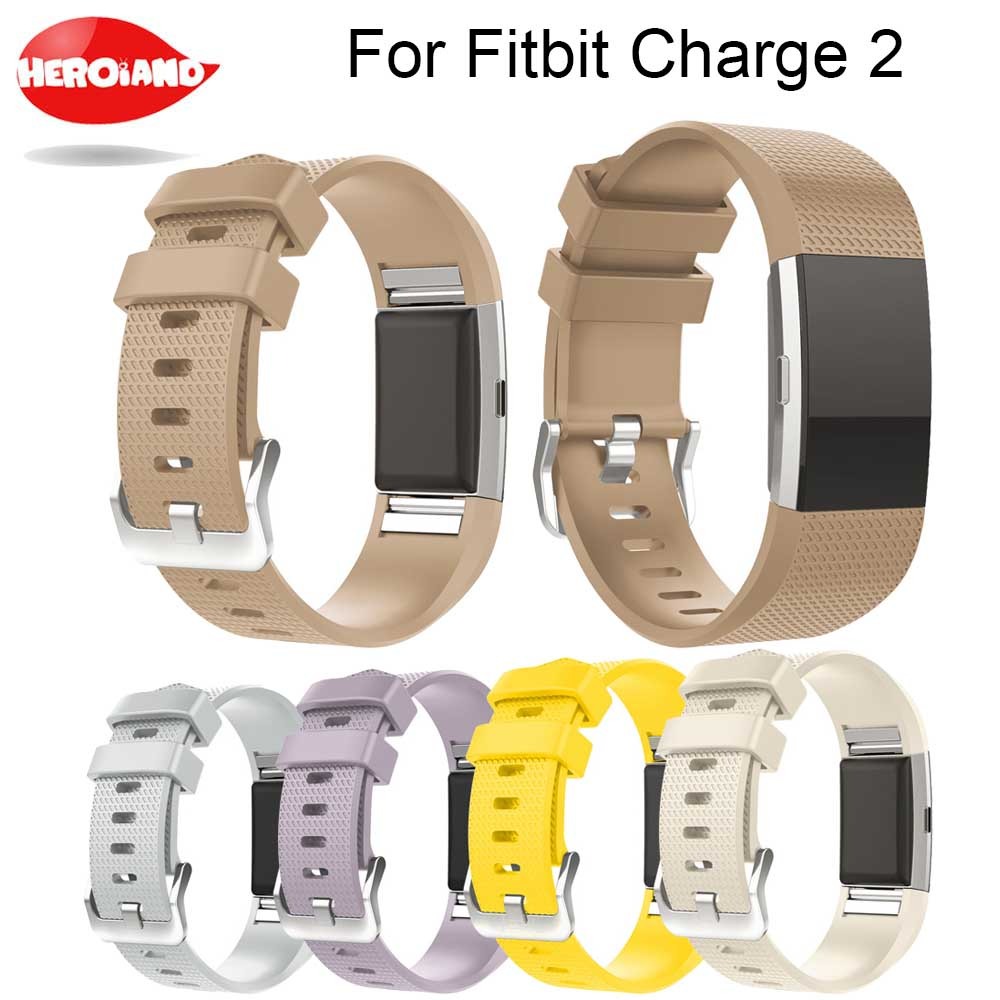 Replacement Strap Bracelet Soft Silicone Watch Band Wrist Strap band For Fitbit Charge 2 Band Charge 2 Heart Rate Smart watch 220909 school gifts boxes pupil men multifunctional creative disney child pencil box primary school student