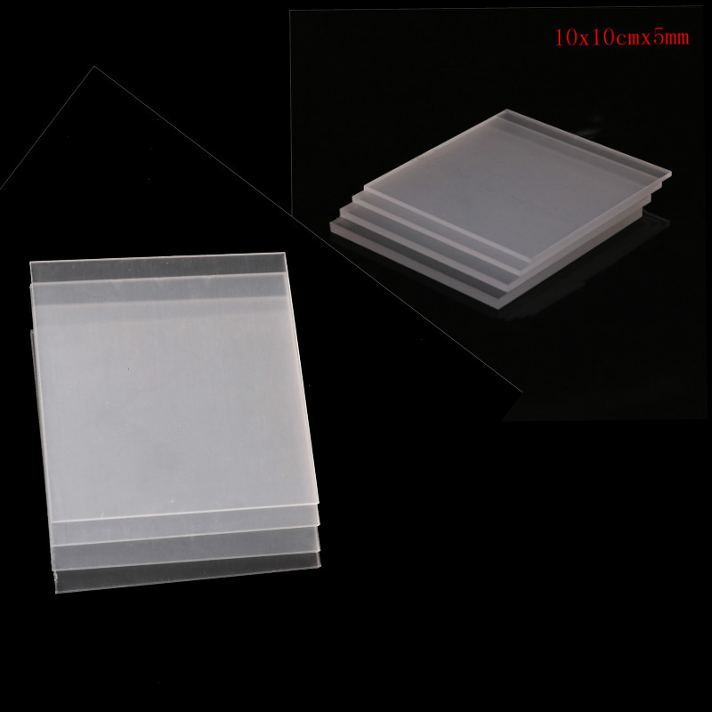 2-5mm thickness Clear Acrylic Perspex Sheet Cut Plastic Transparent Board Perspex Panel