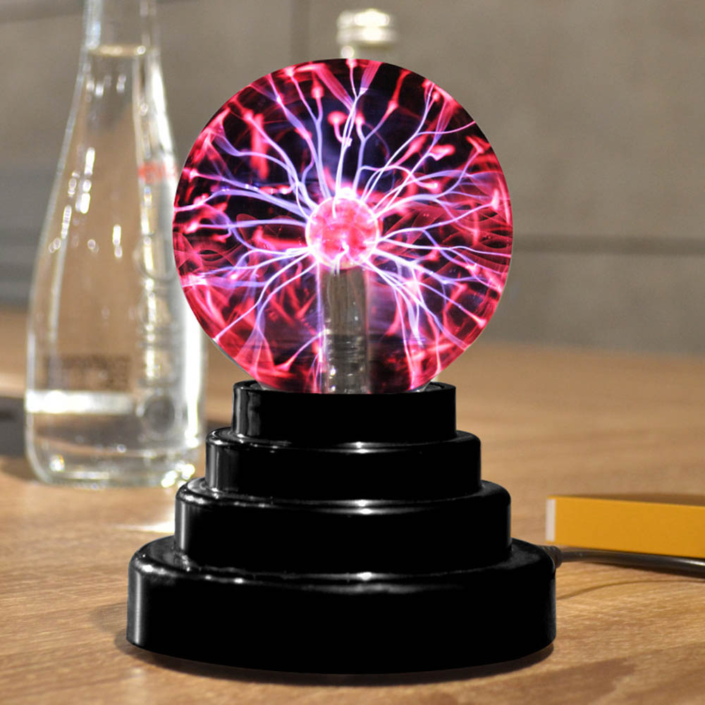 Magic USB Plasma Ball Antistress Tricks Gadget Fantasy Soecery Ball Toys For Children Halloween Schocker Funny Gift