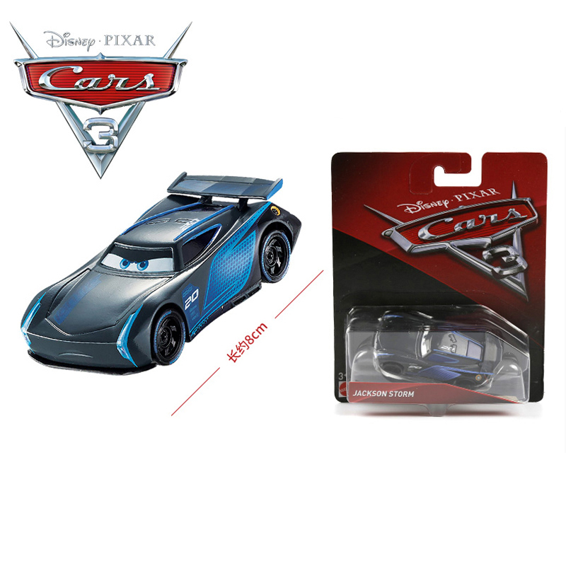 buy 1 55 disney pixar cars 3 jackson storm black color alloy car models. Black Bedroom Furniture Sets. Home Design Ideas
