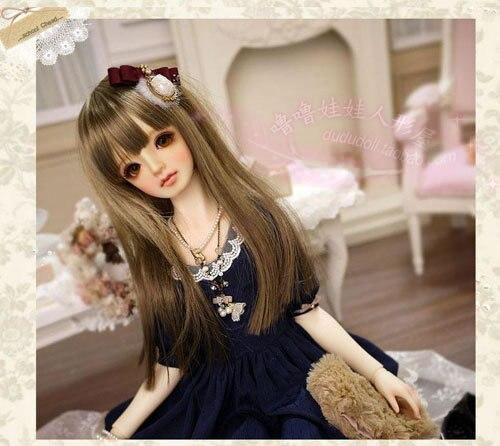 Escala 1 / 4o 42 cm BJD desnuda muñeca de DIY maquillaje, Dress up. SD muchacha