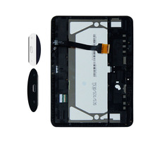 Black / White For Samsung Galaxy Tab 4 10.1 T530 T531 Touch Screen Sensor Digitizer Glass + LCD Display Panel With Frame
