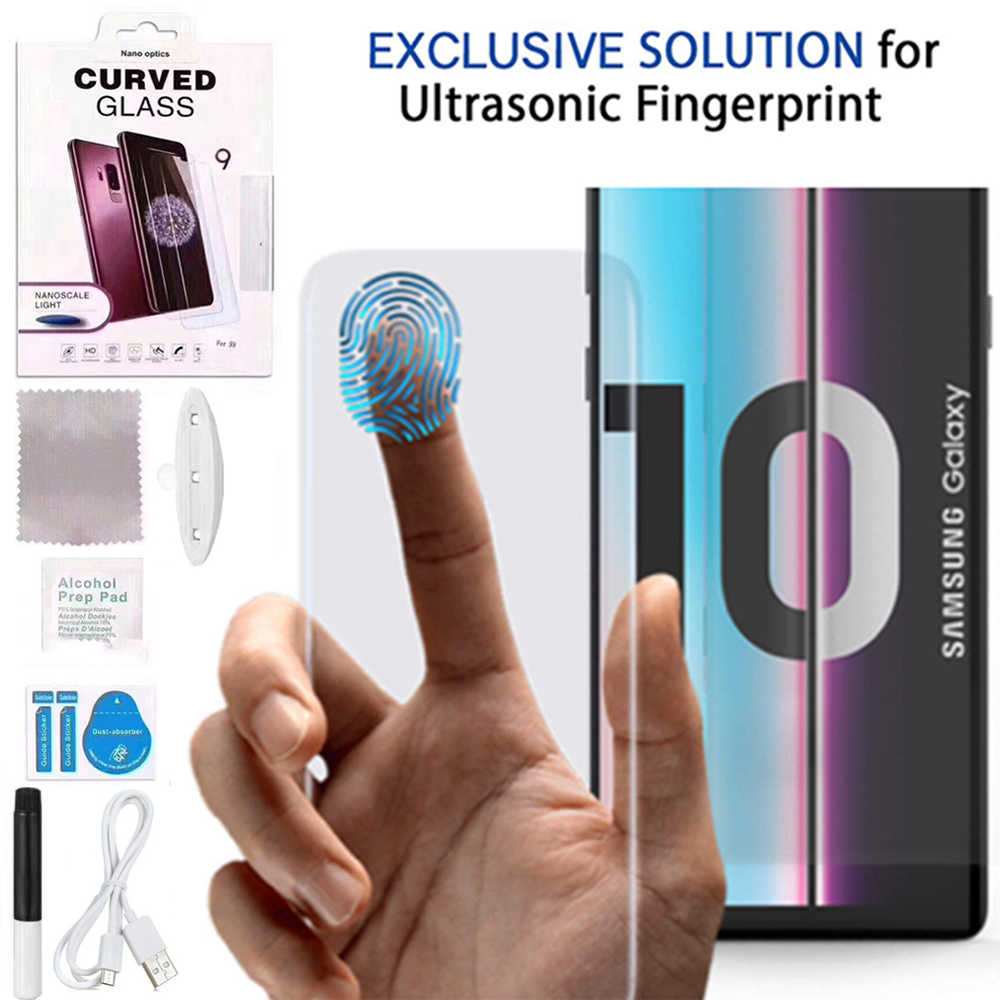 for Samsung S10 Screen Protector Mocolo Note 10 Liquid Glued