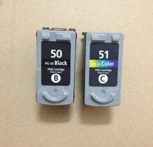 PG-50 CL-51 картридж для canon PG50 CL51 PIXMA MP150 MP160 MP170 MP180 MX300 MP450 MP460 IP2200