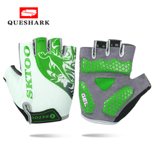 Summer MTB Bicycle Cycling Gloves Silicone Non slip Half Finger Bike Gloves for Men Women Gloves