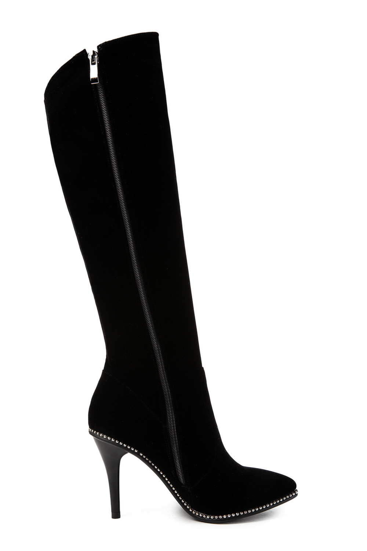 Bottes Gratuite À Femmes Du Hauteur Femme Noir Et Strass Sklfcxzy 2018 En Genou Livraison Chaussures Mode Cuir Stiletto Décoration H0nwTI