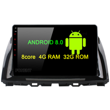 Fongent 10.2 Android 8.0 Car GPS Player for Mazda CX5 CX-5 CX 5 with Octa Core 4GB Ram Auto Radio Multimedia NAVI 4G LTE