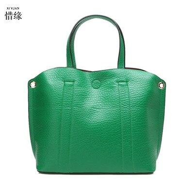 0382eeff250b3 Designs Satz grün Tote rot Neue Crossbody Handtasche Weibliche leder Xiyuan  Pu Messenger Totes Schwarzes silber ...
