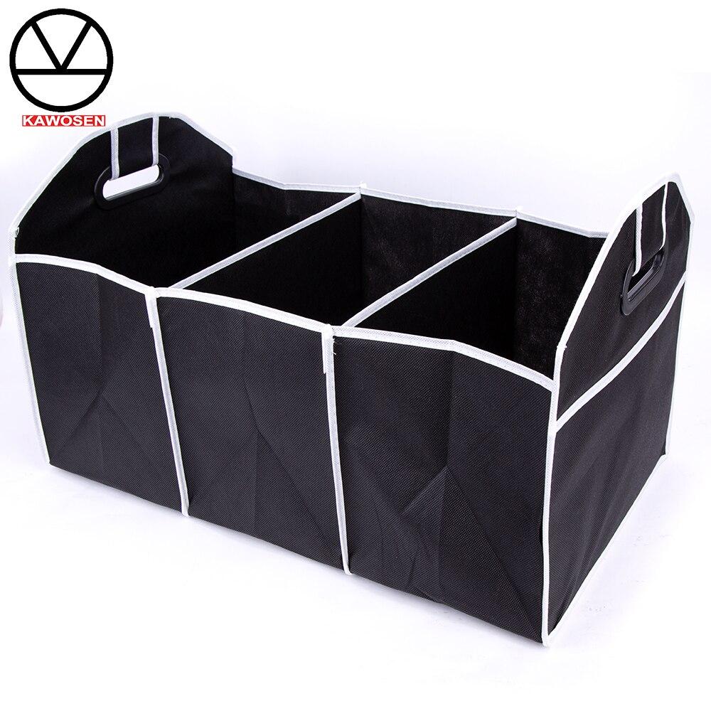 COVERS Car Multi-Pocket Organizer Large Capacity Folding Storage Bag Black Interior Holders Trunk Stowing Tidying HDTO04
