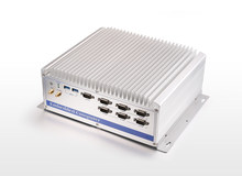 Fanles Industrial Computer, Core i3-5005U CPU, 6*USB 3.0/2.0 , 6*RS232, 2*GLAN, 2 * PCI Expansion Slots, Rugged Box PC