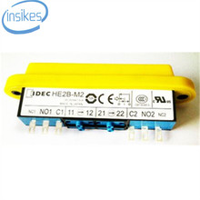 IDEC Eletromecânica Permitindo Alternar DPDT 2A HE2B-M200PY HE2B-M2