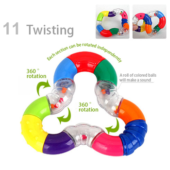 Baby Rattles Toys Newborn Hand Bells Baby Toys 0-12 Months Teething safe Development Infant Early Educational Baby Rattles Toys  1