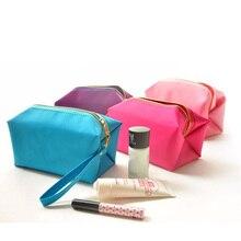 Hot Sale Make Up Bag Portable Travel Women Comestic Bag Organizer Cosmetic Bag Wash Luggage Zipper Storage