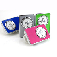 Hot Mini Clip USB MP3 Music Media Player with USB Cable Support Micro SD TF 1-16GB Digital Mp3 players Free shipping