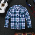 2016 Autumn Winter Cotton Plaid Baby Boys White Shirt Long Sleeve Long Sleeves For Children Boy Shirts Pretty Boy Christmas Gift