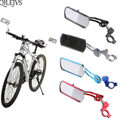 QILEJVS Classic Bike Cycling Bicycle Handlebar Flexible Safe Rear View Rearview Mirror