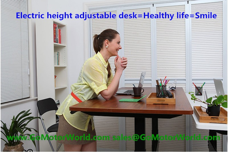Electric height adjustable desk price