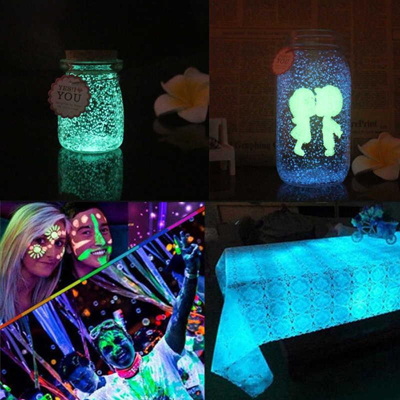 Светящийся песок светящийся порошок светится в темноте вечерние игрушки DIY яркая краска звезда Желая бутылка флуоресцентные игрушки для детей