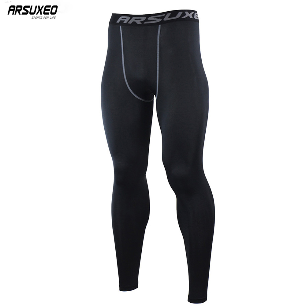 Mens Sport Gym Compression Under Base Layer Fitness Shorts Pants Tight Running