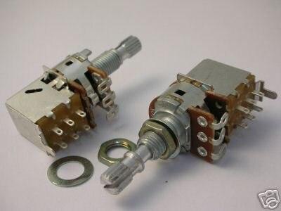 Пуш-ап гитары Запчасти VOL A500K переключатель PP01