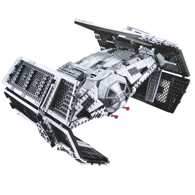 Star Building bricks Wars 05055 The Rogue TIE One USC Vader Advanced Fighter Set Model 1242pcs Building Blocks Toys 10175 2017 new 1242pcs 05055 lepin star wars vader s tie advanced fighter model building kit figures blocks brick toy compatible 10175